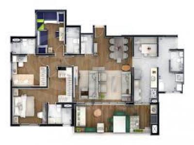 Total Imóveis - Apto 4 Dorm, Centro, Osasco